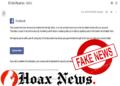 Facebook 'ID Verification' Phishing Email