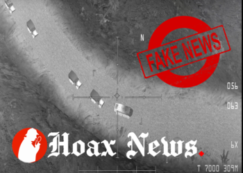 Fake air strike video