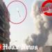 Missile striking Beirut fake video