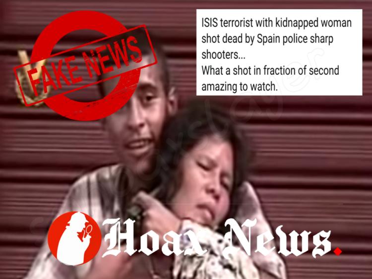 Terrorist hostage